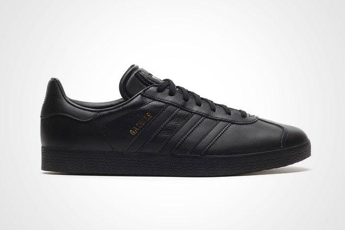 Adidas Gazelle Black Leather Thumb