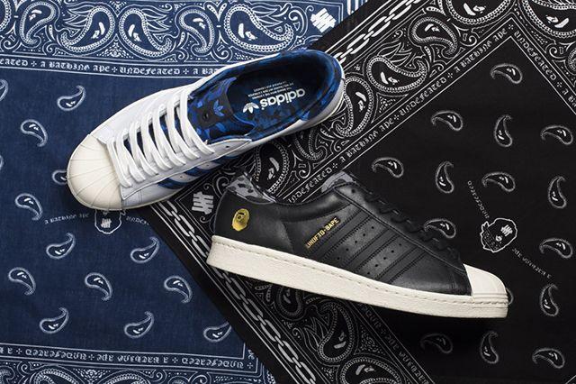 Undftd X Bape X Adidas Collection 4