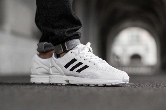 Adidas Zx Flux Superstar White 4