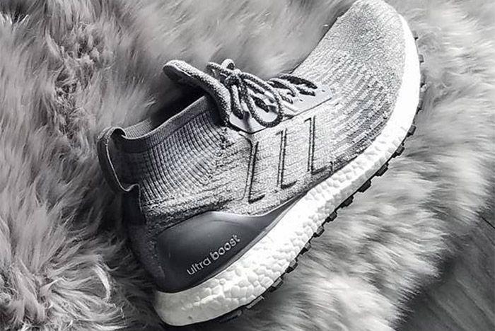Adidas Ultra Boost Mid Grey 3