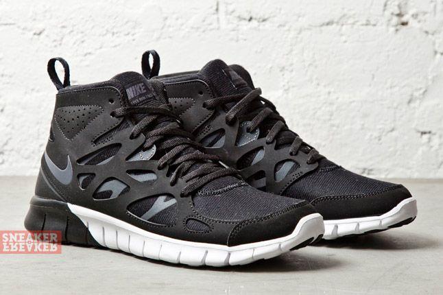 Nike Wmns Free Run 2 Mid Anthracite Summit White 2