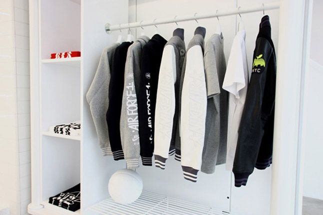 Nike Air Force 1 Xxx Anniversary The Pivot Point Pop Up Shop Tokyo Jacket Rack 1