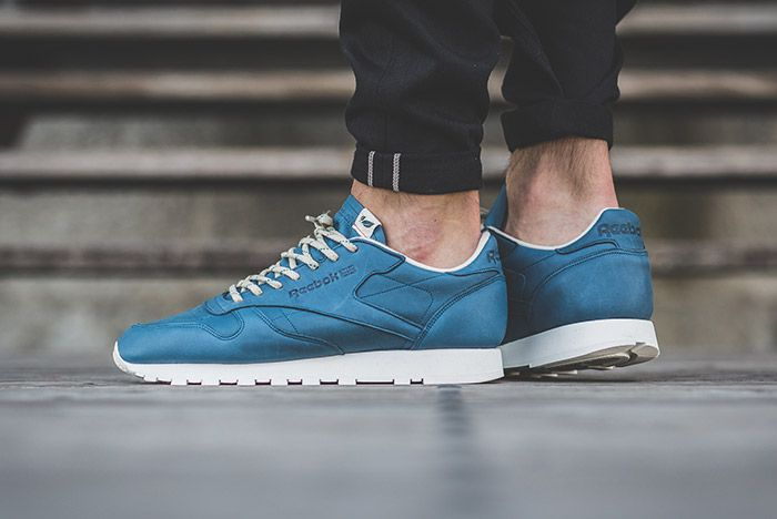 Reebok Classic Leather Eco Botanical Blue 3