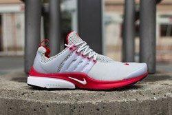 Nike Air Presto Grey Red Dp