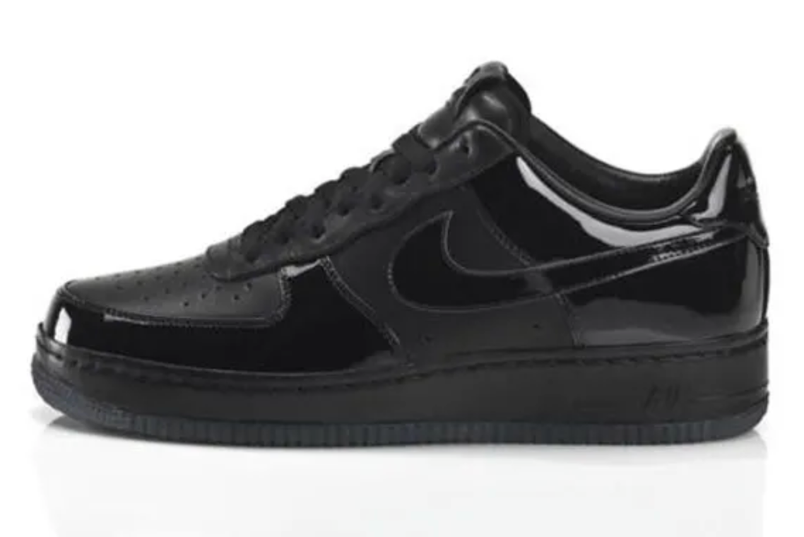 Nike Air Force 1 'All Black Everything Brazil'