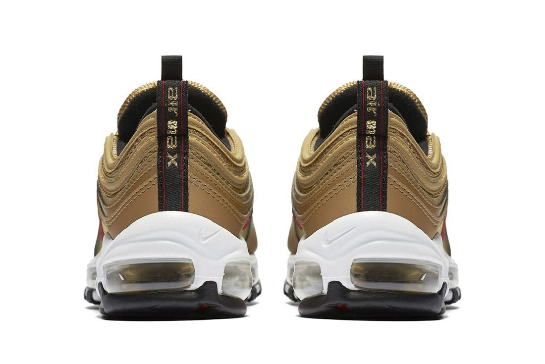 Nike Air Max 97 Metallic Gold 6