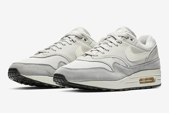 Nike Air Max 1 Grey White 1