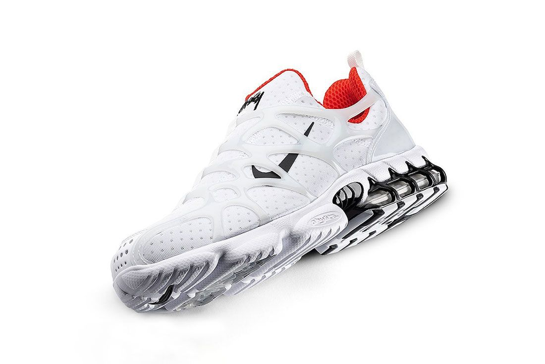 Stussy x Nike Air Zoom Spiridon Kukini White