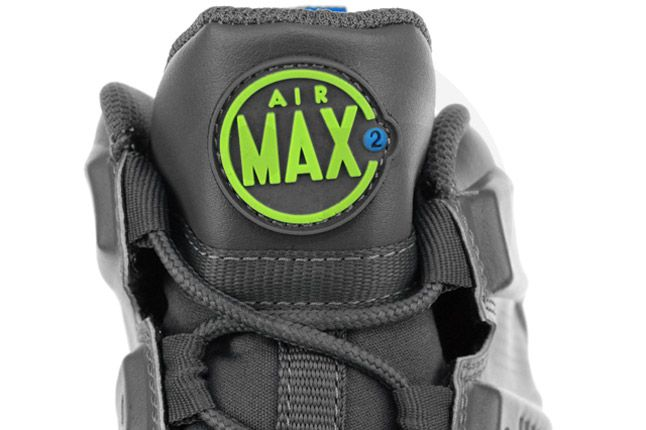 Nike Air Max Barkley Dark Grey Photo Blue Green Tongue 1