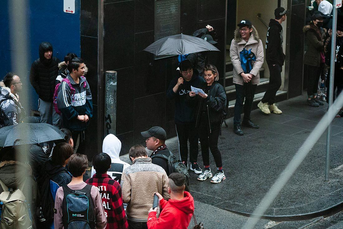 Melbourne Yeezy Wave Runner 700 Launch 13