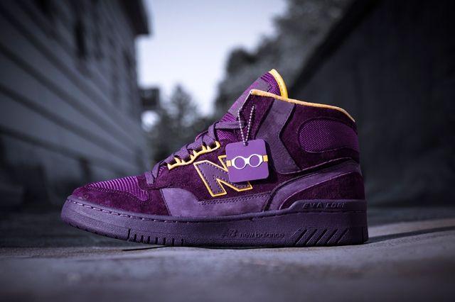 Packer Shoes New Balance 740 Purple Reign Bump 2