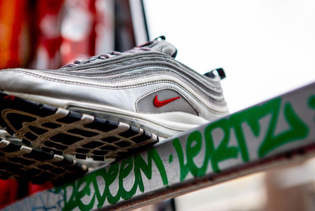 Nike Air Max 97 Silver Bullet Graffiti Close