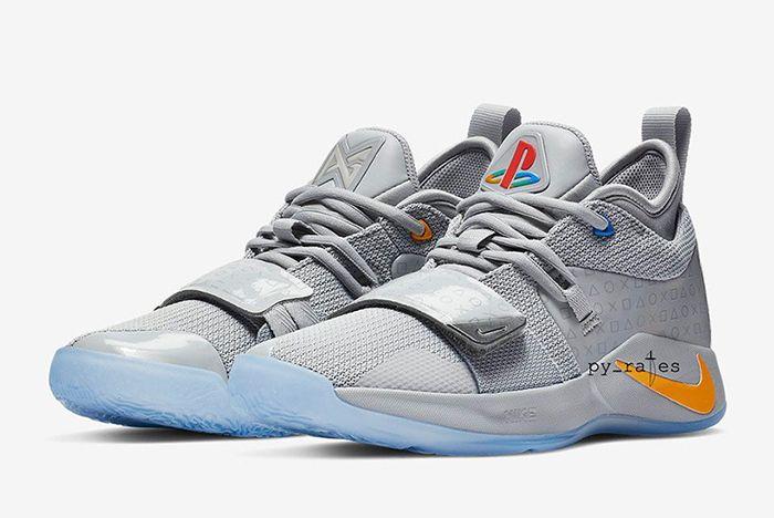 Nike Pg 2 5 Playstation Grey 1