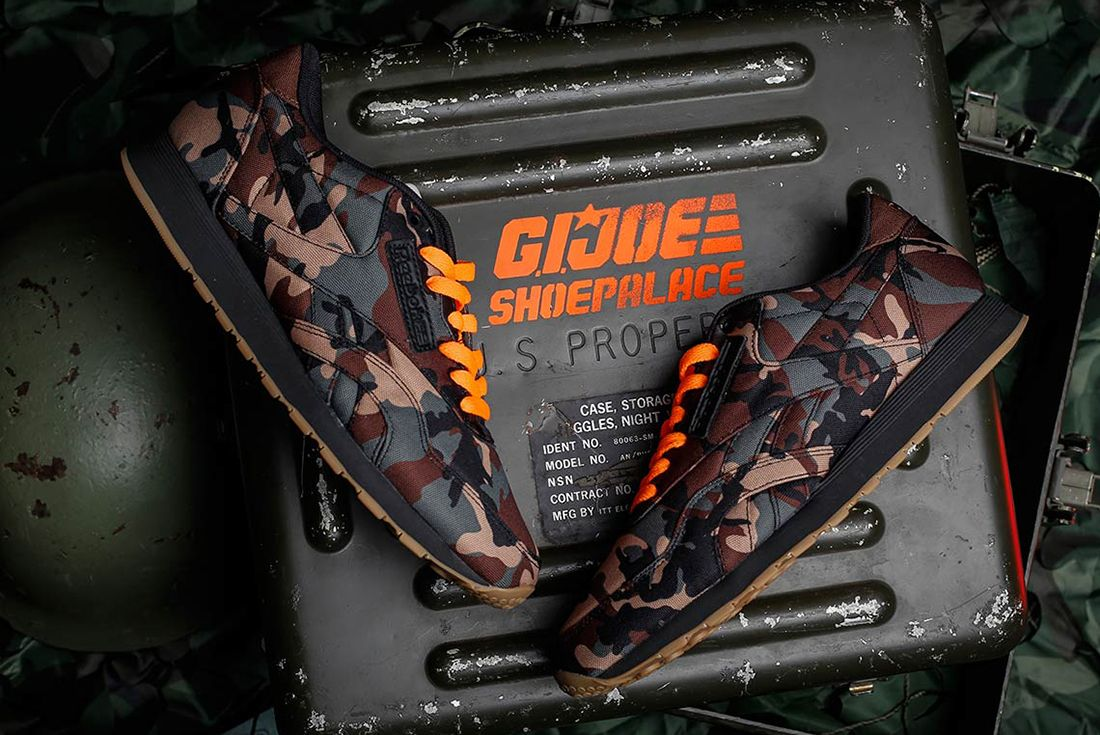 Shoe Palace X Reebok Gi Joe Classic 4