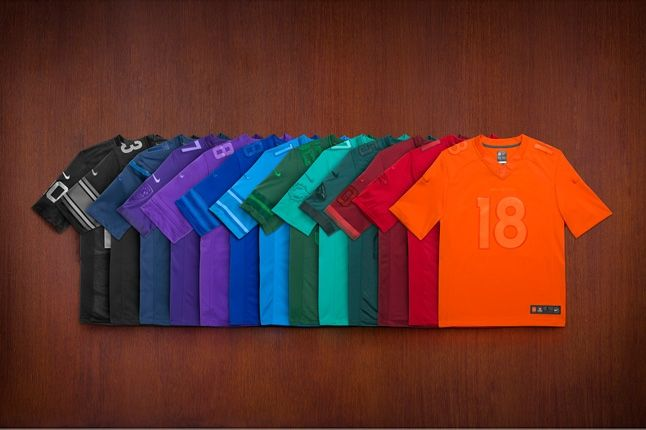 Nike Football Team Jerseys Get Drenched Pack 1