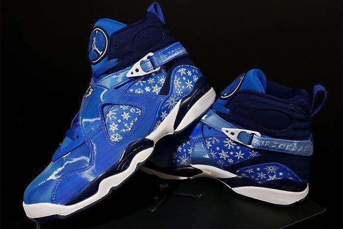 Air Jordan 8 Snowflake 5