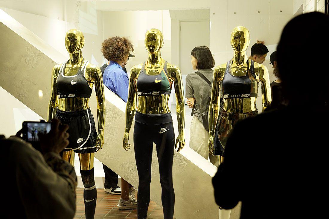 Tokyo Pop Up Launch Sacai X Nike Party2