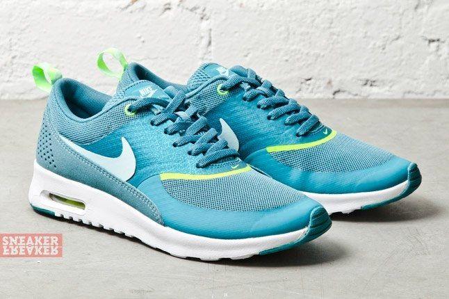 Nike Wmns Air Max Thea Mineral Teal Volt 2