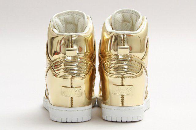Nike Dunk Sky Hi Sp Liquid Gold 3