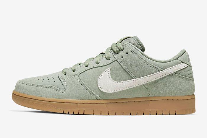 Nike Sb Dunk Low Horizon Green Bq6817 300 Lateral