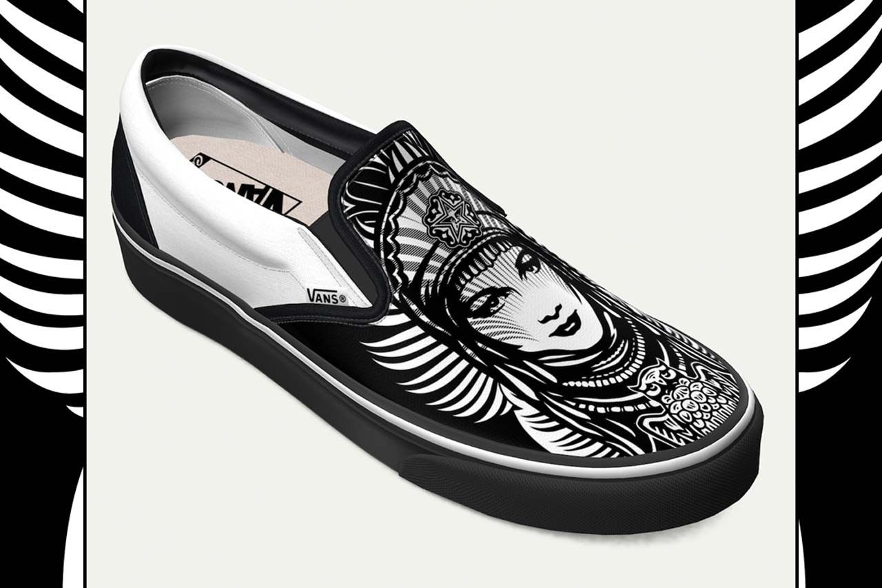 Shepard Fairey Vans Slip-On