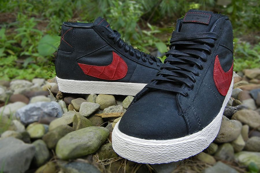 Nike Blazer Mid Suede Croc Jbf Customs 6