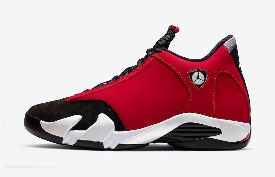 Air Jordan 14 Gym Red Left