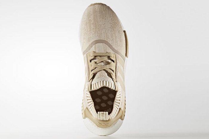 Adidas Nmd R1 Primeknit Linen Khaki 1