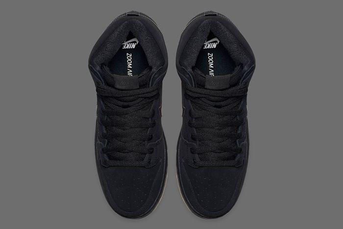Nike Dunk High Blackgum 3