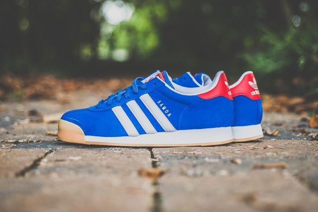 Adidas Samoa Red Blue Gum 5