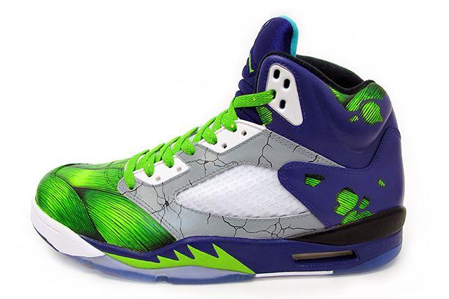 Sekure D Air Smash Jordan 5 Custom