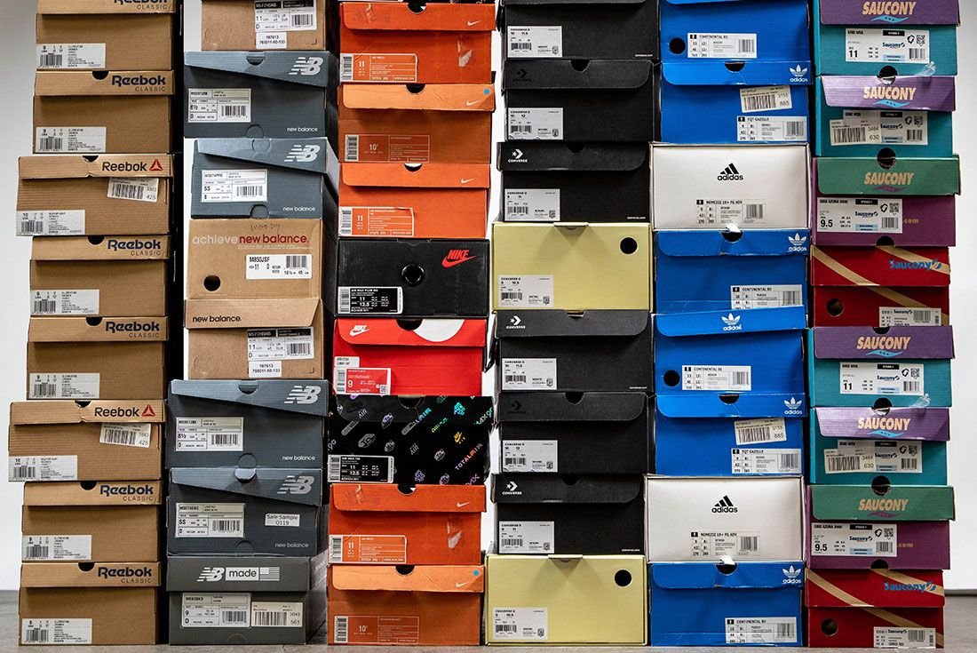 Stack of Sneaker Boxes