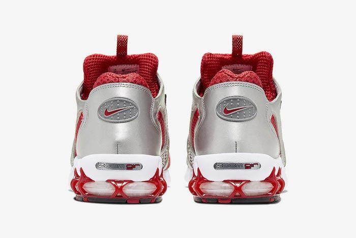 Nike Air Zoom Spiridon Caged Varsity Red Heels