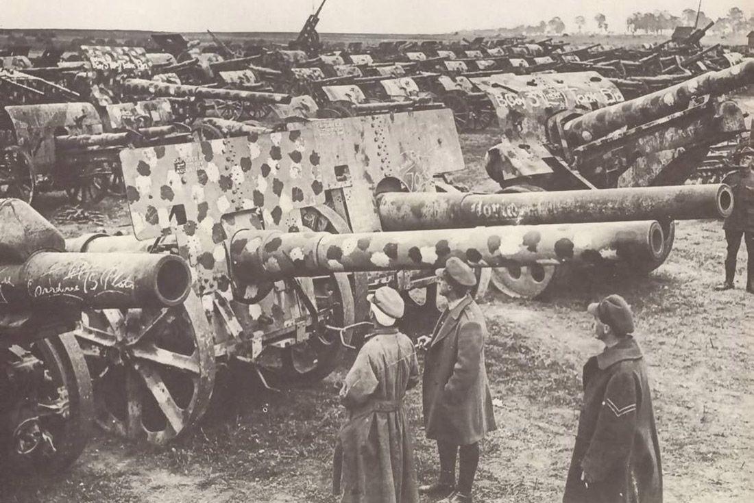 Material Matters Camo Ww1 Artillery