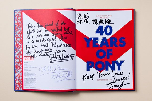 Pony Book Title Page Signed 2