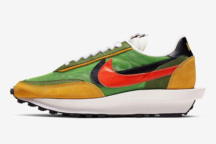 Sacai Nike Blazer Wafle Side Shot 9