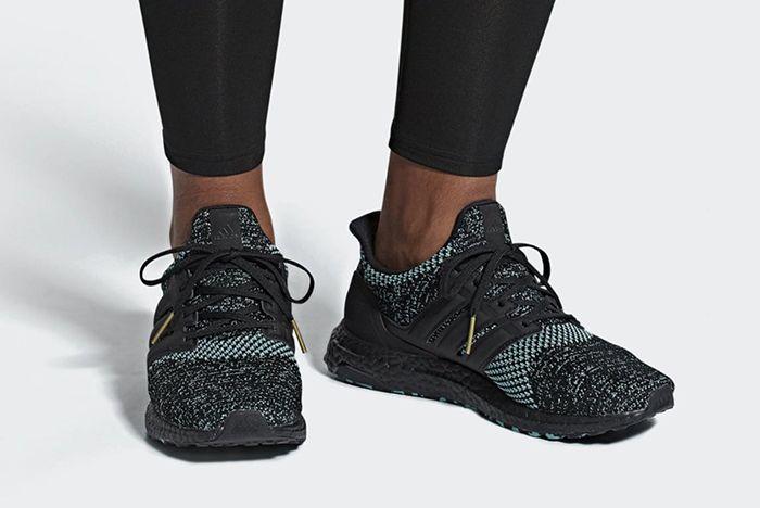 Adidas Ultra Boost Core Black True Green 1