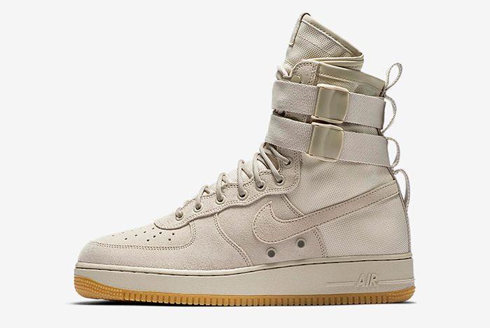 Nike Sf Air Force 1 Tan 2