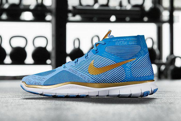 Nike Free Train Instinct Hart Blue 5