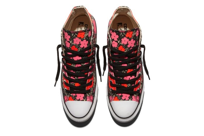 Converse Chuck Taylor All Star Andy Warhol Floral Pair 5