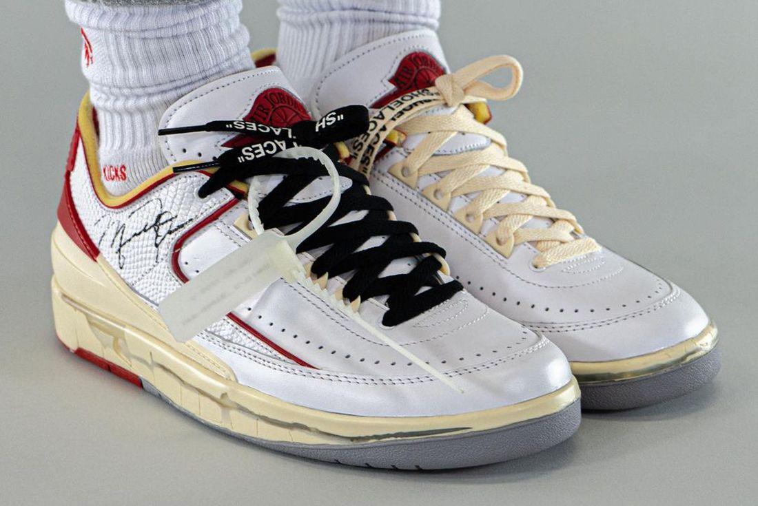 Off-White x Air Jordan 2