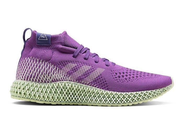 Adidas 4 D Runner Pharrell Williams Purple 1