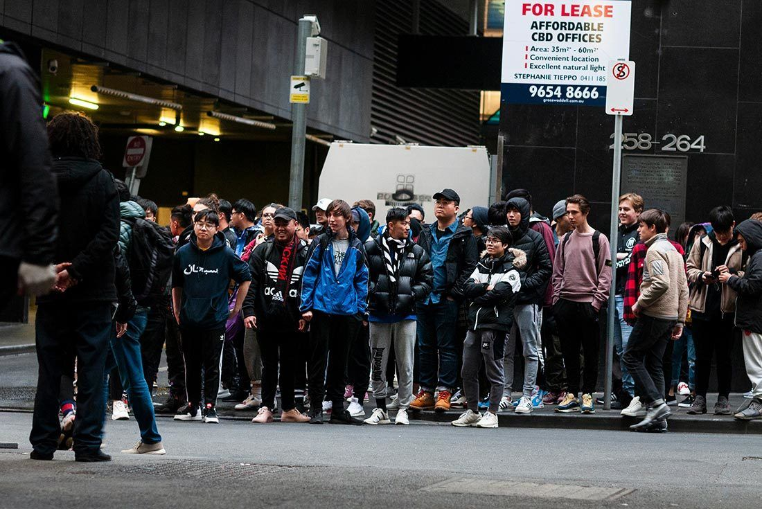 Melbourne Yeezy Wave Runner 700 Launch 7