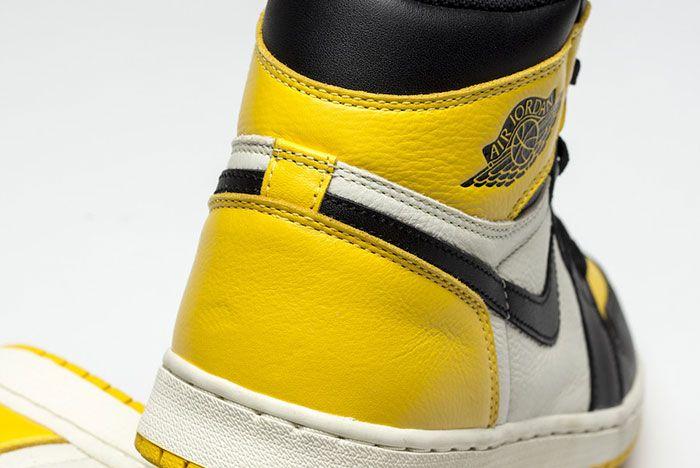 Air Jordan 1 Yellow Toe Ar1020 700 Release Date Rear