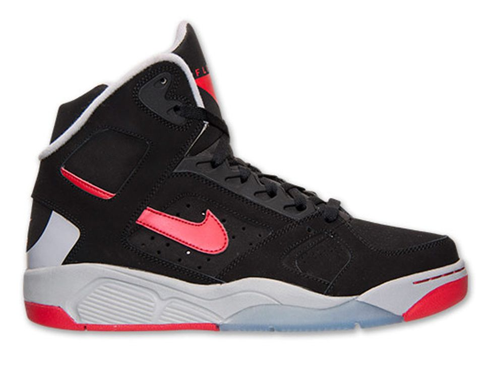 Nike Air Flight Lite High Black Red 1