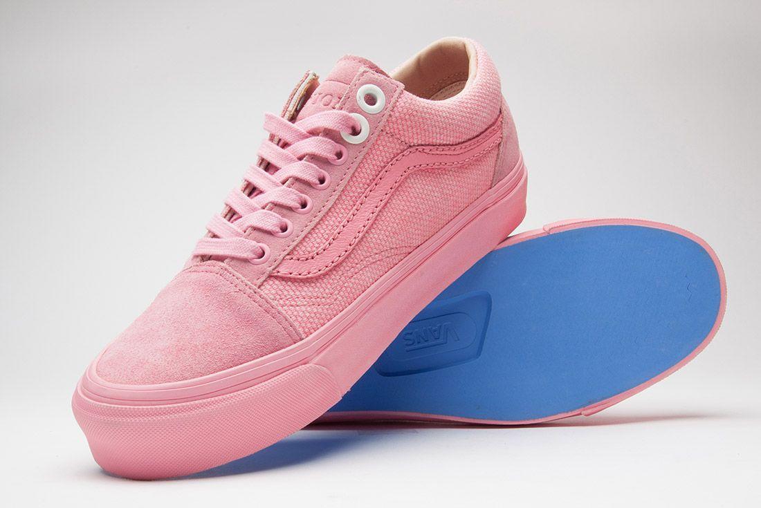 Union La Vans Old Skool Pink