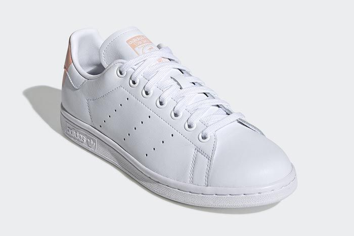 Adidas Stan Smith White Glow Pink Front