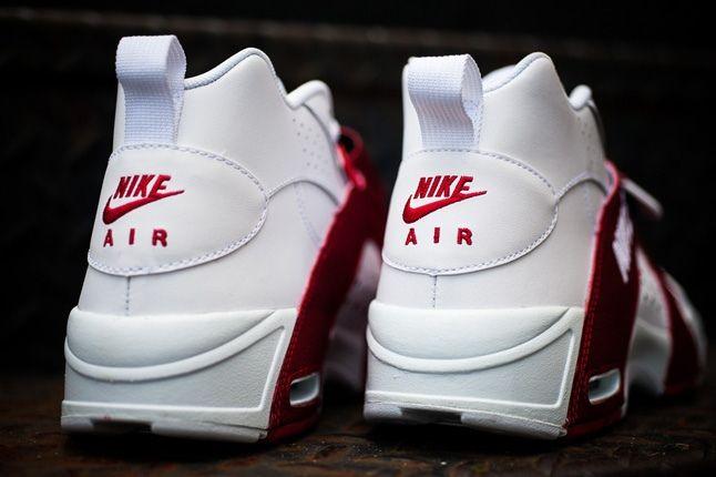 Nike Air Veer Red Heel Profile