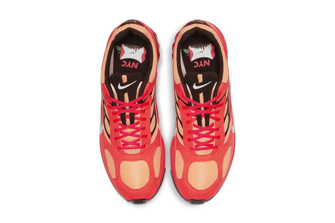 Nike Air Ghost Racer Nyc New York City Marathon Big Apple Red Release Date Top Down Insoles