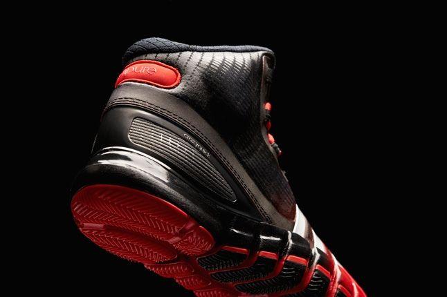 Adidas Crazyquick Black Redwhite Heel Detail 1